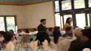 Watch to see a suprprise first dance.