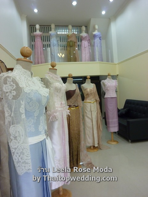 Thai traditional wedding dresses