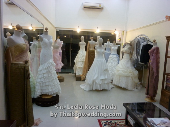 Bangkok Leela rose Moda showroom