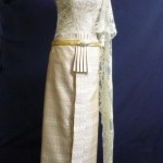 Thai old style belt and dress