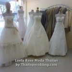 Many style of Thai wedding gown for your happy day, in Bangkok.
