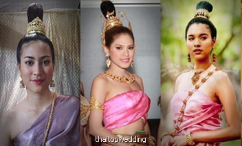 Thailand Traditional fashion style dresses
