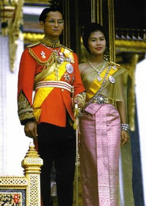 Thai Phra Ratcha Niyom or Thai National Costume in Thailand
