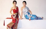 Thai Phra Ratcha Niyom or Thai National Costume in Thailand