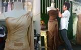 Thai Prayok wedding dress a look of Thailand traditional dresses for ceremony.