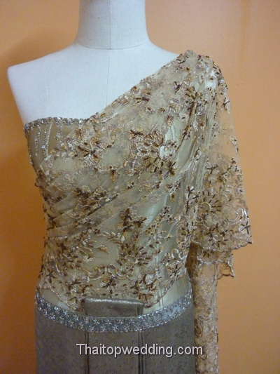 Size measurement for Thai Traditional wedding dress, how to?