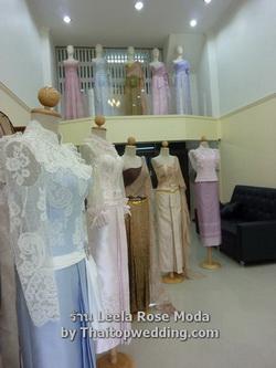 Thai traditional wedding dresses