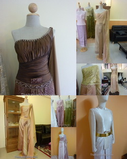 Thailand wedding dresses clothing 2012 for bride to be.