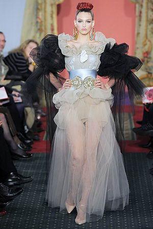 รูปเสื้อผ้าแฟชั่นผู้หญิงเกรด โอต กูตูร์ ( Haute Couture )