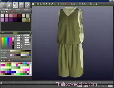 โปรแกรมออกแบบเสื้อผ้า