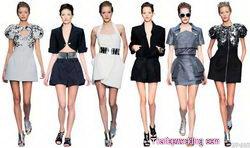 เทรนด์การแต่งตัว 2010 เสื้อผ้าผู้หญิง
