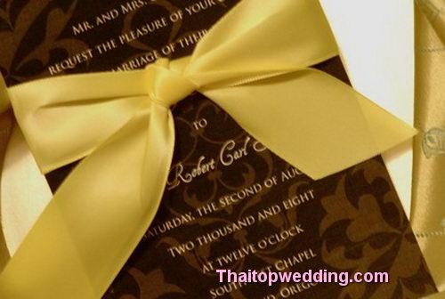 จุดเปลี่ยน การ์ดแต่งงานทำเอง แบบเจ้าสาวไทยนักประหยัด