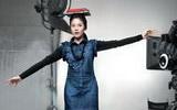 ชุดทํางานเกาหลี ผู้หญิง กางเกง แบบ ซองแฮเกียว Levis