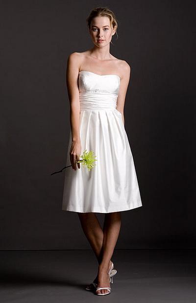 รูปชุดเจ้าสาวแต่งงานแบบสั้น
