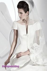 ชุดแต่งงาน 2011 แบบตัดเสื้อ คอเสื้อสวยๆ