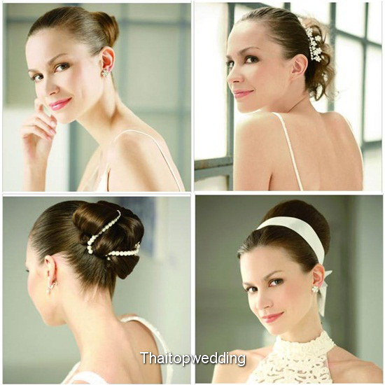 เกล้าผมเจ้าสาว ชุดไทยแต่งงานปีหน้า  2011 แฟชั่นนีสต้า แบบตามเทรนด์