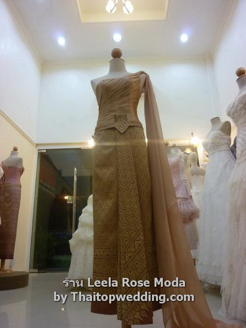 ชุดไทย dress สวยๆ พร้อมเลือก กลุ่มใหม่ Leela Rose 2011