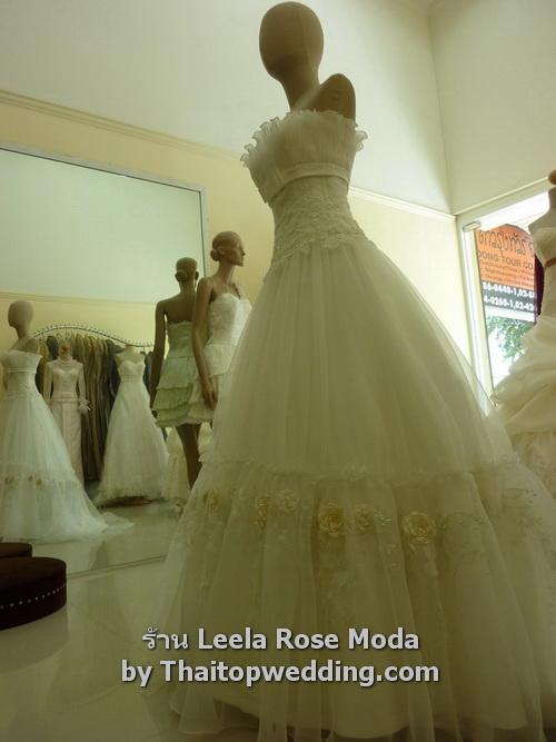 ชุดเจ้าสาวผ้าลูกไม้ แบบเรียกแขกเก๋ๆ 2011 ร้านชุดแต่งงานไทย