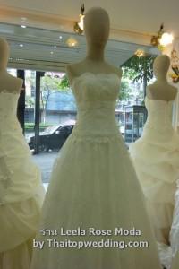 ชุดเจ้าสาวผ้าลูกไม้เกรดหรู หาซื้อได้ในเมืองไทย รุ่น 2554