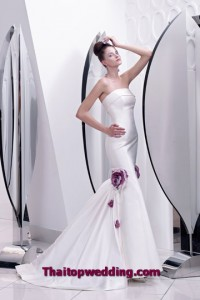 การออกแบบเดรสแต่งงานสวยๆ ทรงหางปลา แบบอิตาลีสวยๆ 2554
