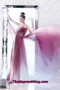 แบบชุดเจ้าสาวแฟชั่น 2554 ดีไซน์เป็นงานหรูๆ เดรปไข้ว Draping wedding dress