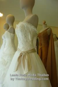 รูปแบบชุดแต่งงานเกาะอก แบบต่างๆ ทั้ง เช่นตัว โทนสีมีโบวน่ารัก