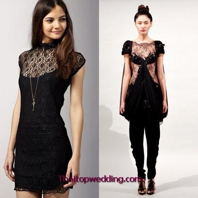 ชุดเดรสผ้าลูกไม้ แฟชั่นย้อนยุค 2011 เสื้อผ้าวัยรุ่น ผู้สูงวัย ลวดลาย แบบไหน? ได้เทรนด์