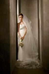 ชุดแต่งงานแบบเกาะอก เรียบๆ 2011