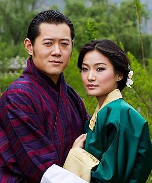ประกาศงานแต่งงานกษัตริย์จิกมี่ ต้นแบบ ความสุขมวลรวมประชาชาติ ( GNH ) ภูฐาน