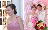 ครอบครัวรอยยิ้ม งานแต่งงาน มุมมองแบบ ลีลาโรส