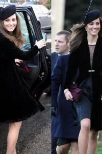 สุดท้าย Dress ดำ ลุ๊คเจ้าหญิง Kate Middleton