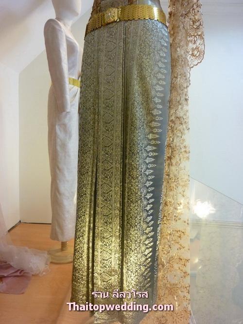 ชุดไทยผ้าไหม ผ้าถุงหายาก