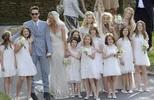 ชุดเจ้าสาววินเทจ เคท มอสส์ ภาพงานแต่งงาน หรูหรา วันนี้
