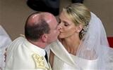 ภาพพิธีเสกสมรส เจ้าชายอัลแบร์ที่ 2 แห่งโมนาโก
