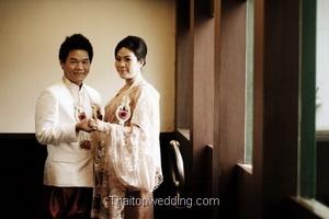 ชุดงานแต่งงาน สไตล์ไทยๆ