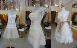 dress สั้น เดรส วันนางเอก ร้านเจ้าสาว แบบ Leela Rose