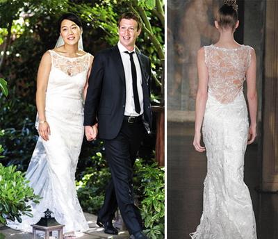 เทรนด์ชุดแต่งงาน 2012
