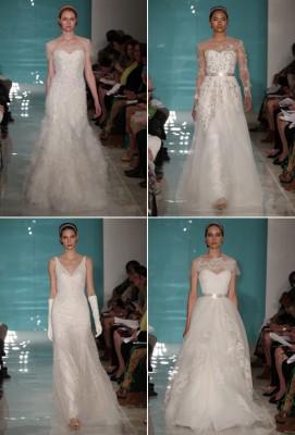 ชุดแต่งงาน เปล่งประกาย จาก Reem Acra 2013