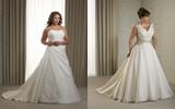 พลัสไซส์ ชุดเจ้าสาว เลือกชุดบิ๊กไซส์  ชุดแต่งงาน++