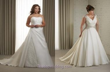 พลัสไซส์ ชุดเจ้าสาว เลือกชุดบิ๊กไซส์  ชุดแต่งงานพลัสๆ