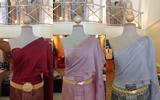 ไอเดีย ชุดไทย แบบประยุกต์ สีพื้น แต่งงาน โบราณ