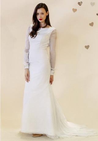 ชุดเจ้าสาว แขนยาว ชุดแต่งงานสวยๆ 2013 ไอเดีย แบบ ต่างๆ