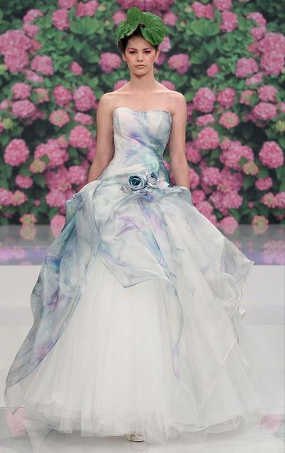 ชุดเจ้าสาว สีสวยๆ สี พาสเทล กลิ่น อิตาลี ไอดีย ปีหน้า