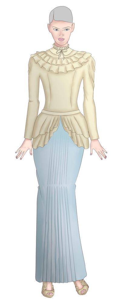 ชุดไทย มีแขน รวม ไอเดีย แขนยาว แขนสั้น ชุดไทยเจ้าสาว