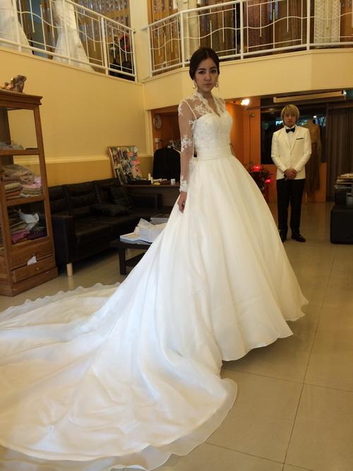 รูปชุดแต่งงาน ห้องลองโครงชุด คุณหนิง คุณท๊อป