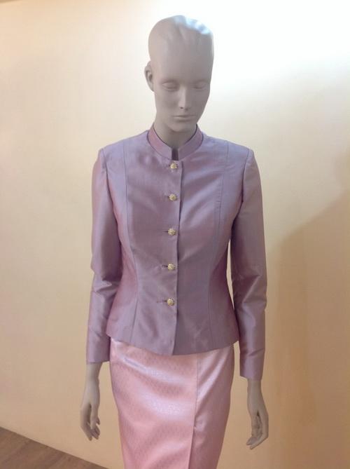 แบบชุดผ้าไหม ชุดไทยจิตรลดา  ( Thai Chitlada )