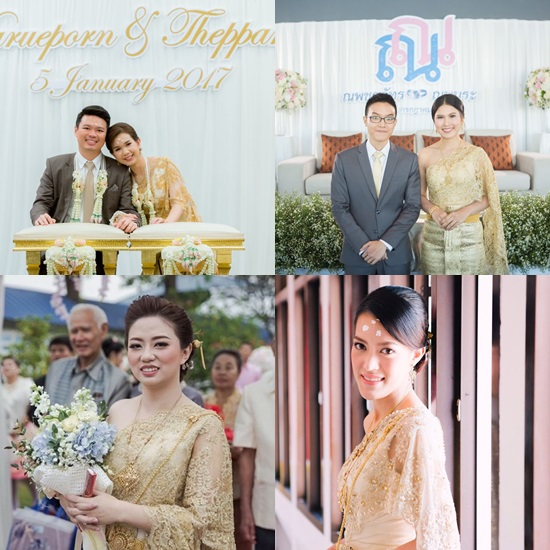 ชุดไทย ชุดแต่งงาน
